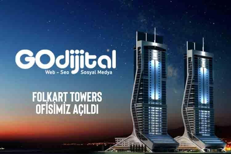 İzmir Bayraklı Folkart Towers Ofisi Hizmetinizde