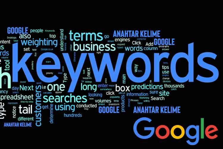 Google SEO Anahtar Kelime Nasıl Bulunur