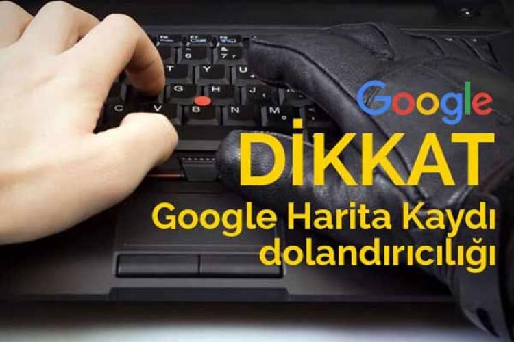 Google işletme kaydı dolandırıcılığı